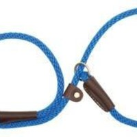 "Mendota Dog Slip Lead & Leash Small 3/8"" x 6' Blue"