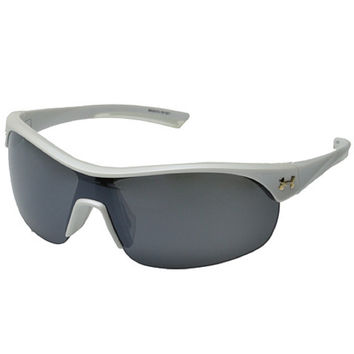 Under Armour Marbella Sunglasses Satin Pearl /Frosted Clear