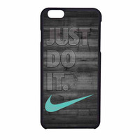 Nike Mint Just Do It Wooden Gray iPhone 6 Case