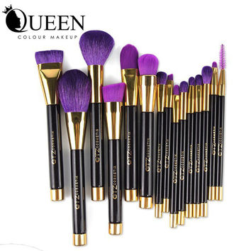 Brush Set synthetic hair Cosmetic Make up