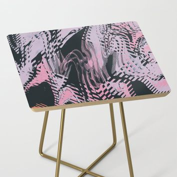 No Small Talk Side Table by duckyb