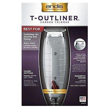 Andis T- Outlinner Trimmer | T-Blade-Gray