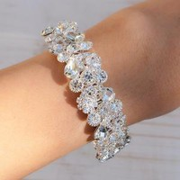 Crystal Saint Cuff