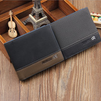 Men's Casual Leather Card Holder Wallet