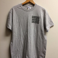 Panthers : Friday Night Lights / Youth Crew Hardcore Tee Shirt