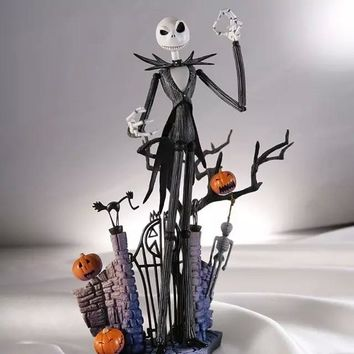 Halloween Town Pumpkin King The Nightmare Before Christmas action figure Jack Skellington doll collectible figurine Anime PVC
