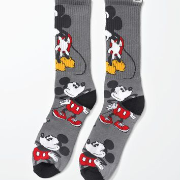 Vans - Disney Mickey Mouse Crew Socks - Mens Socks - Multi - One