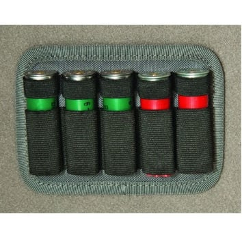 G.P.S. Hook/Loop 12 Gauge Shotgun Shell Holder Holds 5