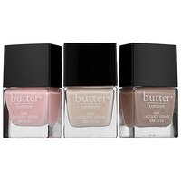 Pretty Neutral Nail Lacquer Trio - butter LONDON | Sephora
