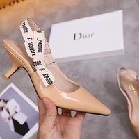 Dior Women Fashion Heels Sandals Shoes