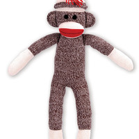 Schylling Sock Monkey - large