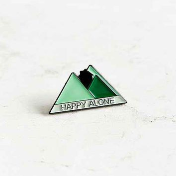 Stay Home Club Happy Alone Lapel Pin