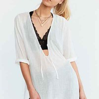 Ecote Lin Tunic Top - Urban Outfitters