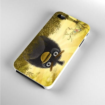 Angry Birds Black Landscape iPhone 4s Case