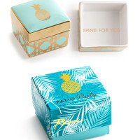 """Patio Party"" Decorative Box - Pineapple"