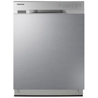 Samsung Front Control Dishwasher with Stainless Steel Interior DW80J3020UW/AA - JCPenney