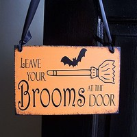 Halloween Handmade Witches Sign