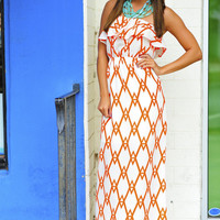 Get To The Point Maxi Dress: Clementine | Hope's