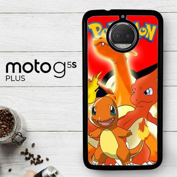 Charizard Pokemon Z2216  Motorola Moto G5S Plus Case