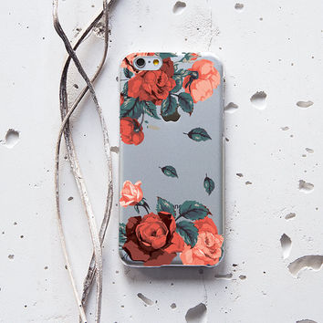 iPhone 6 Case Floral iPhone 6s Plus Case Gift For Her iPhone 5s Case Rose iPhone 4 Case Natural Samsung Galaxy Note 3 Rubber Case Flower 210