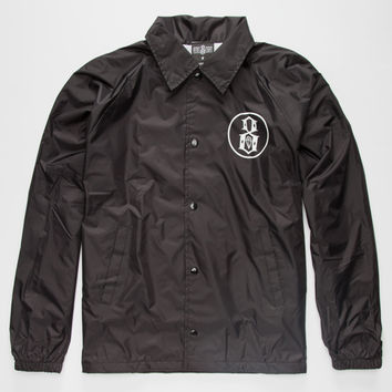 Rebel8 Outline Logo Mens Jacket Black  In Sizes