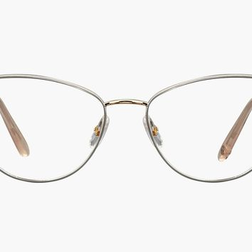Garrett Leight - Olive Gold Cashmere Eyeglasses / Demo Lenses