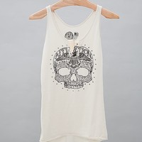 Affliction Dead Head Notch Tank Top
