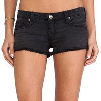 Frankie B. Jeans Summer Girl Short in Black