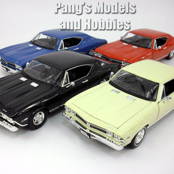 Chevrolet Chevelle (1968) SS-396 1/24 Diecast Metal Model by Welly