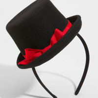 Mini Cabaret Headband | Top Hat Headband | fredflare.com