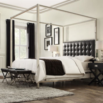 Kingstown Home Chattel Canopy Bed | Wayfair