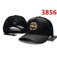 VERSACE Fashion Women Men Embroidery Sports Sun Hat Baseball Cap Hat Black