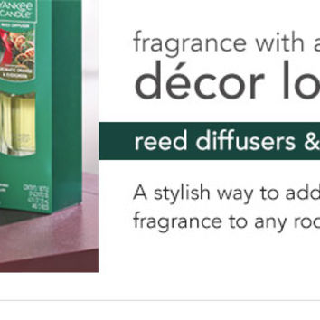 Reed Diffusers | Oil Diffuser Scented Sticks - Yankee Candle - Yankee Candle
