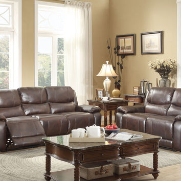 Reclining Sofa & Loveseat Set Allenwood Collection 8429-2+8429-3