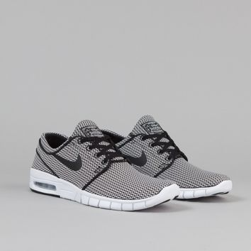 Nike SB Stefan Janoski Max Shoes - Black / Black / White