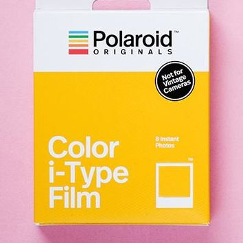 i-Type Polaroid Camera Film 3-Pack (Save $10!)