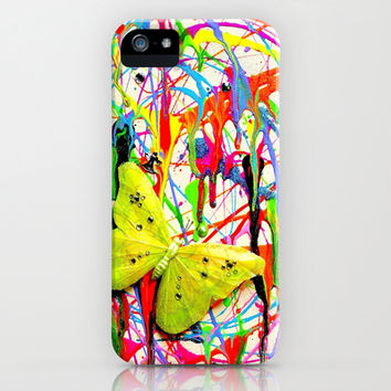 Summer Rain iPhone & iPod Case by Adka