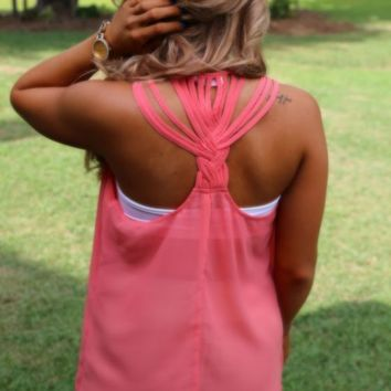 What She Likes Top: Coral