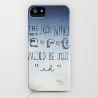 Without Art iPhone Case by ZWAG | Society6