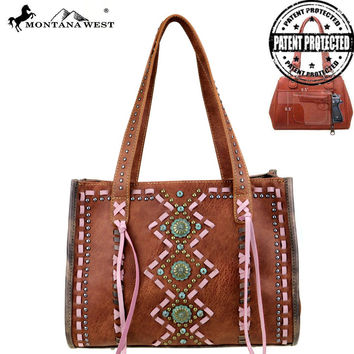 Concho Tote by Montana West MW408G-8394