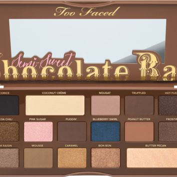 Too Faced Semi Sweet Chocolate Bar Eyeshadow Palette