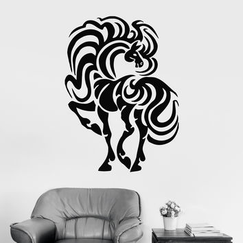 Wall Stickers Vinyl Decal Horse Animal Room Decor Murals Unique Gift (ig261)