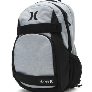 Hurley Honor Roll School Backpack - Mens Backpacks - Grey - One