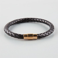 THE GOLD GODS Genuine Leather Bracelet | Bracelets