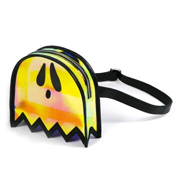 Ectogasm Holographic Clear Ghost Fanny Pack