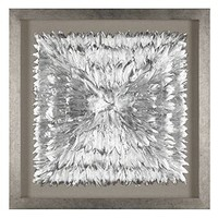 Feathered Silver | Dimensional | Art by Type | Art | Z Gallerie