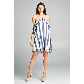 Sun Please Chiffon Stripe Dress