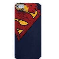 DC Comics Superman Distressed Emblems Hard Case for iPhone 5/ 5s /SE