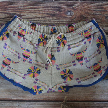 By The Horns Jaquard Track Shorts