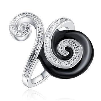 party silver plated ring